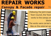 Canopy & Facade Repair Works
